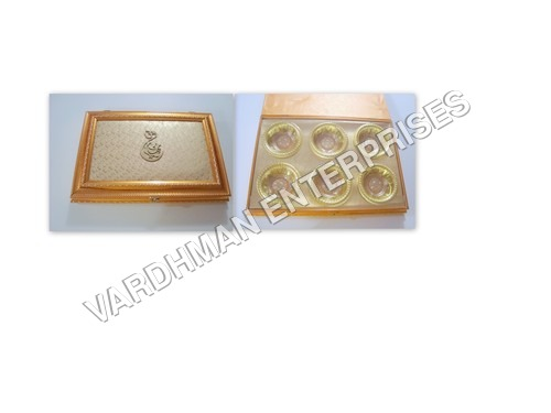 6 Plastic Inner Wooden Box