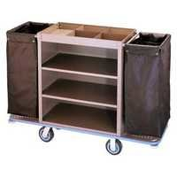 Metal laundry carts with wheels
