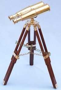 Polished Binocular With Stand