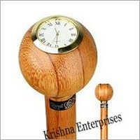 Clock Cane Walking Stick