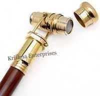 Brass Telescope Walking Stick