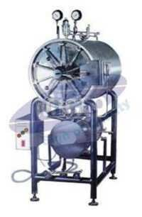 Horizontal autoclave (Cylindrical) Triple Wall