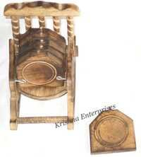 Wooden Set For Small Tea Plate