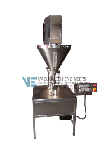 Semi Automatic Auger Powder Filling Machine