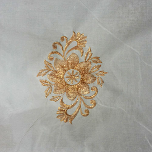 Poly Organza Embroidered  Fabrics
