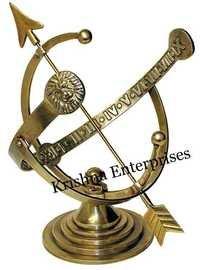Armillary Sundial - Antique Bronze