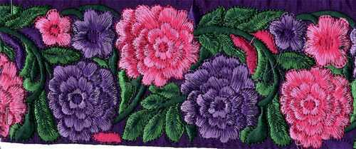 Decorative Fancy Embroidery Lace