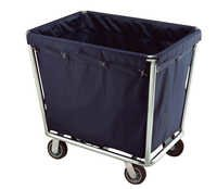 Hotel laundry carts with wheels