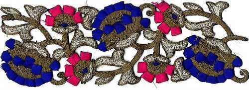 Fancy Cutwwork Lace