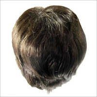 Mens Black Front Lace Hair Wigs