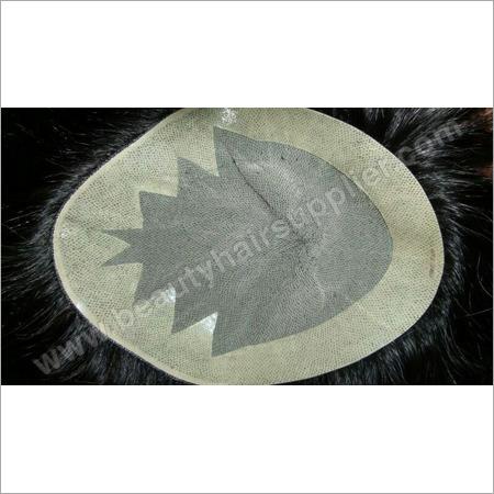 Natural Black Human Hair Patch