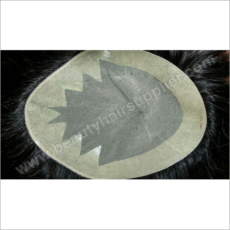 Natural Black Human Hair Patch