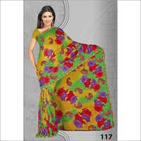 Exclusive Embroidery Printed Saree