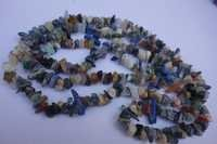 natural 34 inch multi stone uncut beads gemstone one strand