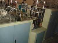 AUTOMATIC SILVER LAMINATED PAPER PLATES MACHINE UERGENT SALE