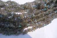 natural 34 inch labradorite uncut beads gemstone one strand