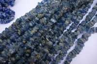 natural 34 inch kyanite uncut beads gemstone one strand
