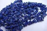 natural 32 inch lapis uncut beads gemstone one strand
