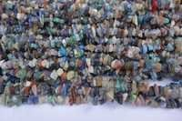natural 32 inch multi stone uncut beads gemstone one strand