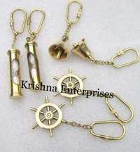 Brass Set of Key Chains