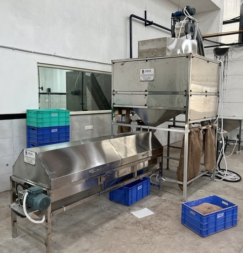 Automatic Cashew Peeling Machine