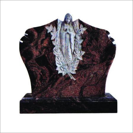 Indian Granite Tombstone