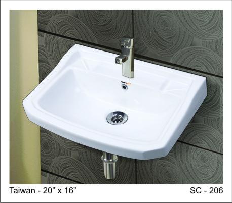 Taiwan wash basin