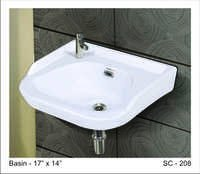 Bathroom wash basin