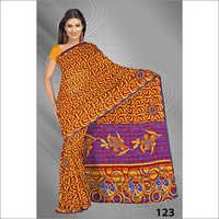 Printed Embroidery Saree Manufacture in Surat