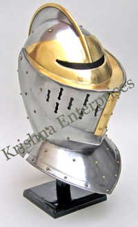 European Knight Helmet