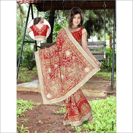 Fancy Suhagan Saree