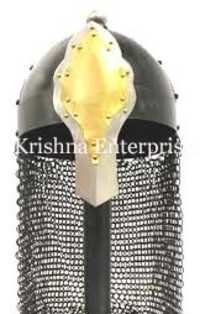 Helmet With Chainmail