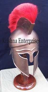Centurion Helmet With Red Plume