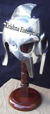 Horror Helmet With Plume