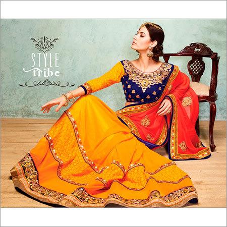Wedding Stylish Lehenga Saree