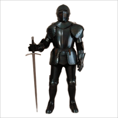 Armor Suit Black Oxidised