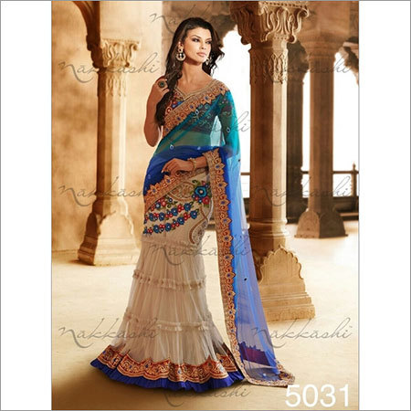 Heavy work Wedding sarees