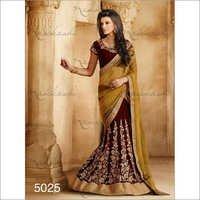 Velvet Net Wedding sarees