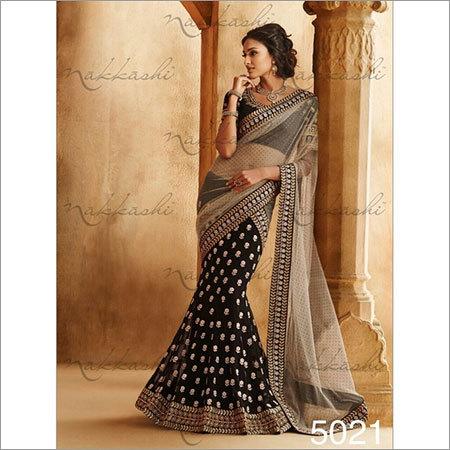Black Wedding sarees