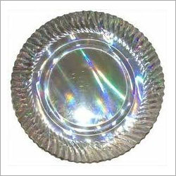 Silver Lunch Plate