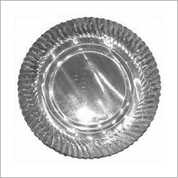 Silver Coated Paper Plate
