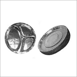 Silver Coated Dinner Plates