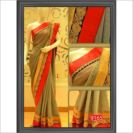 Designer Sarees with Border