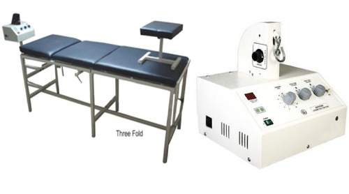 A Traction Machine with Table