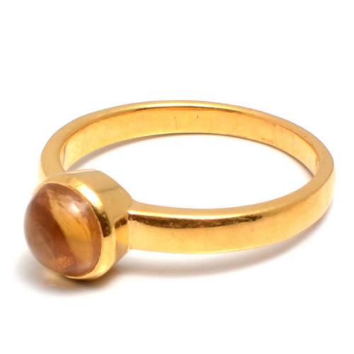 Natural Tourmaline  Vermeil Gold