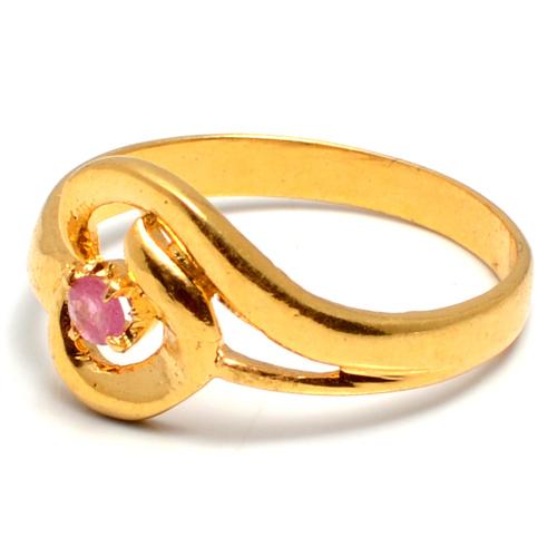 Tourmaline  Vermeil Gold- 2 micron