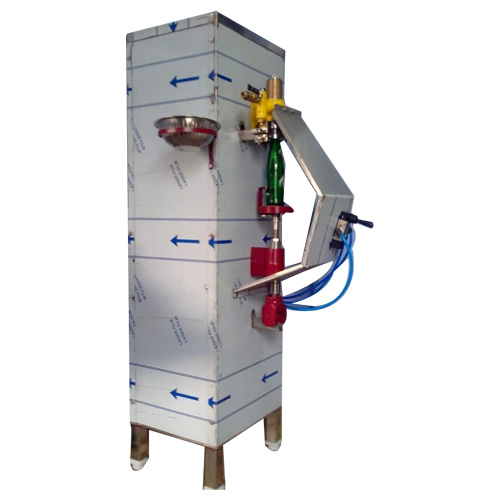 Pneumatic Glass Bottle Filling Machine