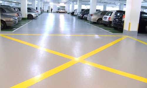 Car Parking Epoxy Coating