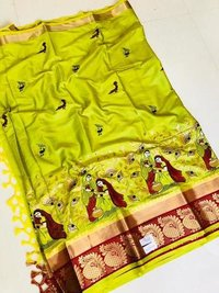 Exclusive Rich Cotton Silk Saree