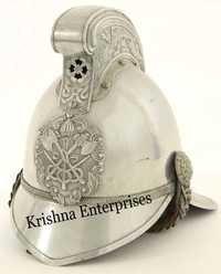 Larp Fireman Nickel Helmet